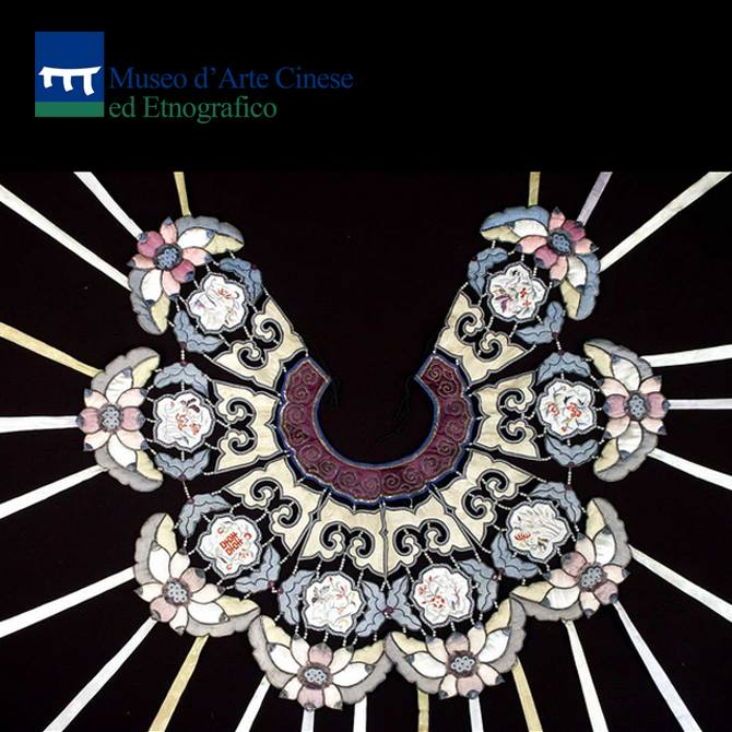 """Al Museo Cinese di Parma la """"Mantellina da sposa"""""""