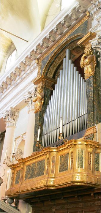 Colorno - L'organo Serassi della Cappella ducale di San Liborio