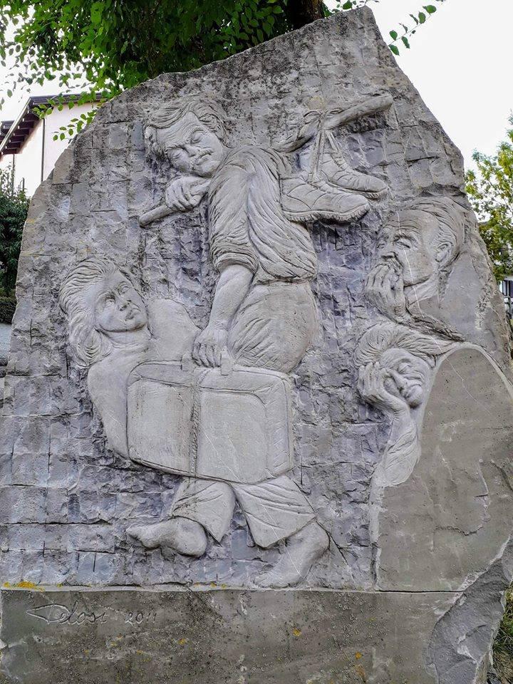 Berceto, monumento ai migranti
