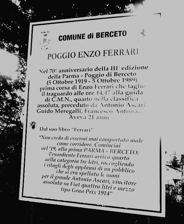 Berceto - Poggio Enzo Ferrari