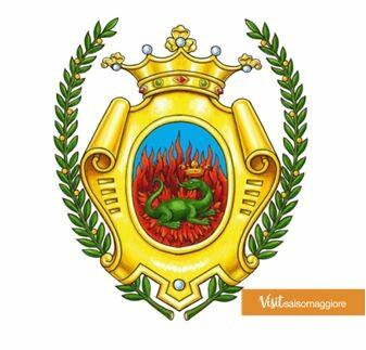 LA SALAMANDRA 🦎- stemma di Salsomaggiore Terme