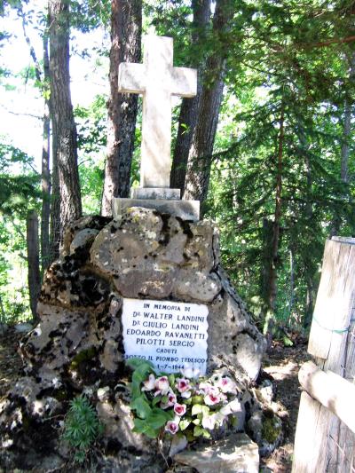 Corniglio - Cippo commemorativo dei Caduti sotto il piombo nazifascista