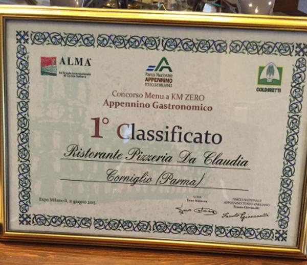 Corniglio_Ristorante Pizzeria Claudia