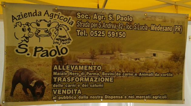 """Medesano _ Az. Agricola Biologica """"San Paolo"""" di Brianti, specialità carni di  bovino e suino nero"""
