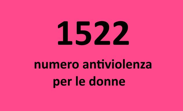 1522 è il numero antiviolenza per le donne