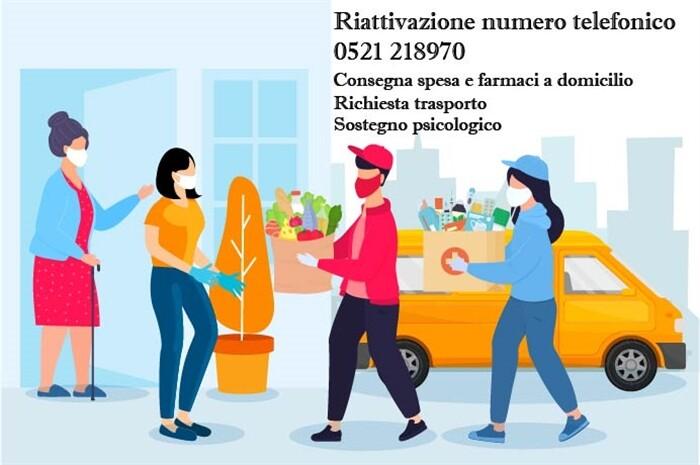 Parma : telefono protezione sociale