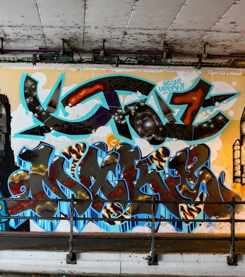 Parma - Segni Urbani 2018:  Ufo & Maks