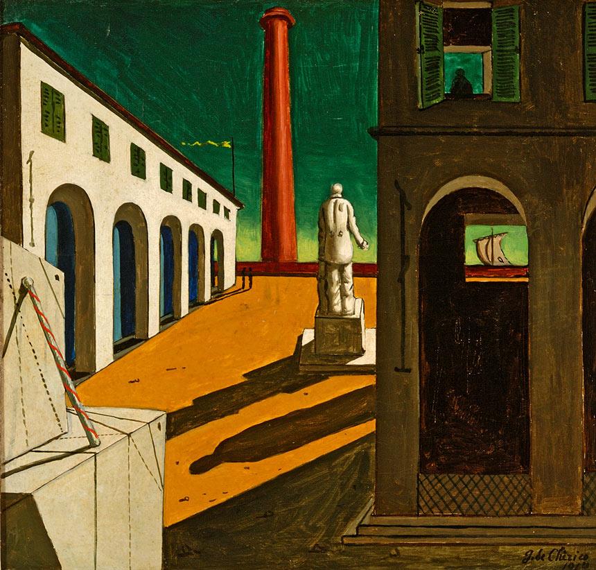 L'Enigma della partenza  di Giorgio de Chirico alla Fondazione Magnani Rocca di traversetolo