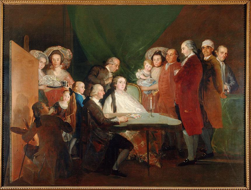 La Famiglia dell'infante don Luis di Goya alla Fondazione Magnani Rocca