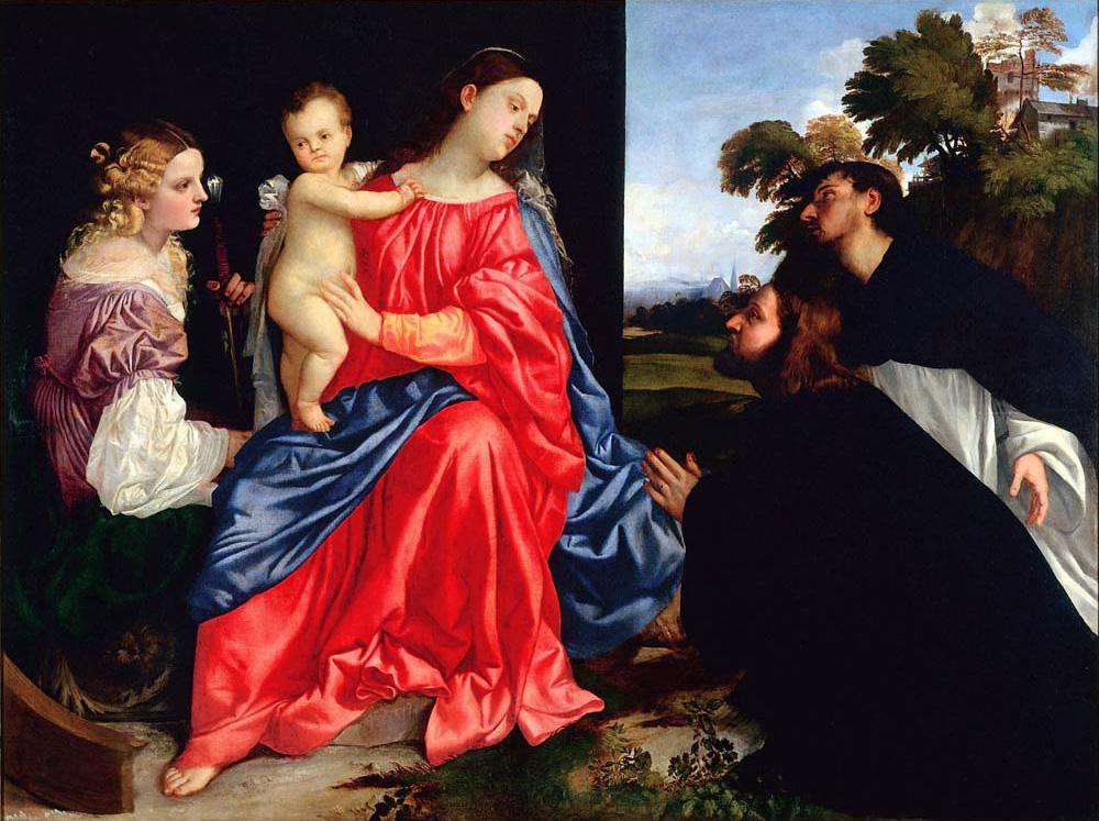 La Sacra Conversazione di Tiziano alla Fondazione Magnani Rocca di traversetolo