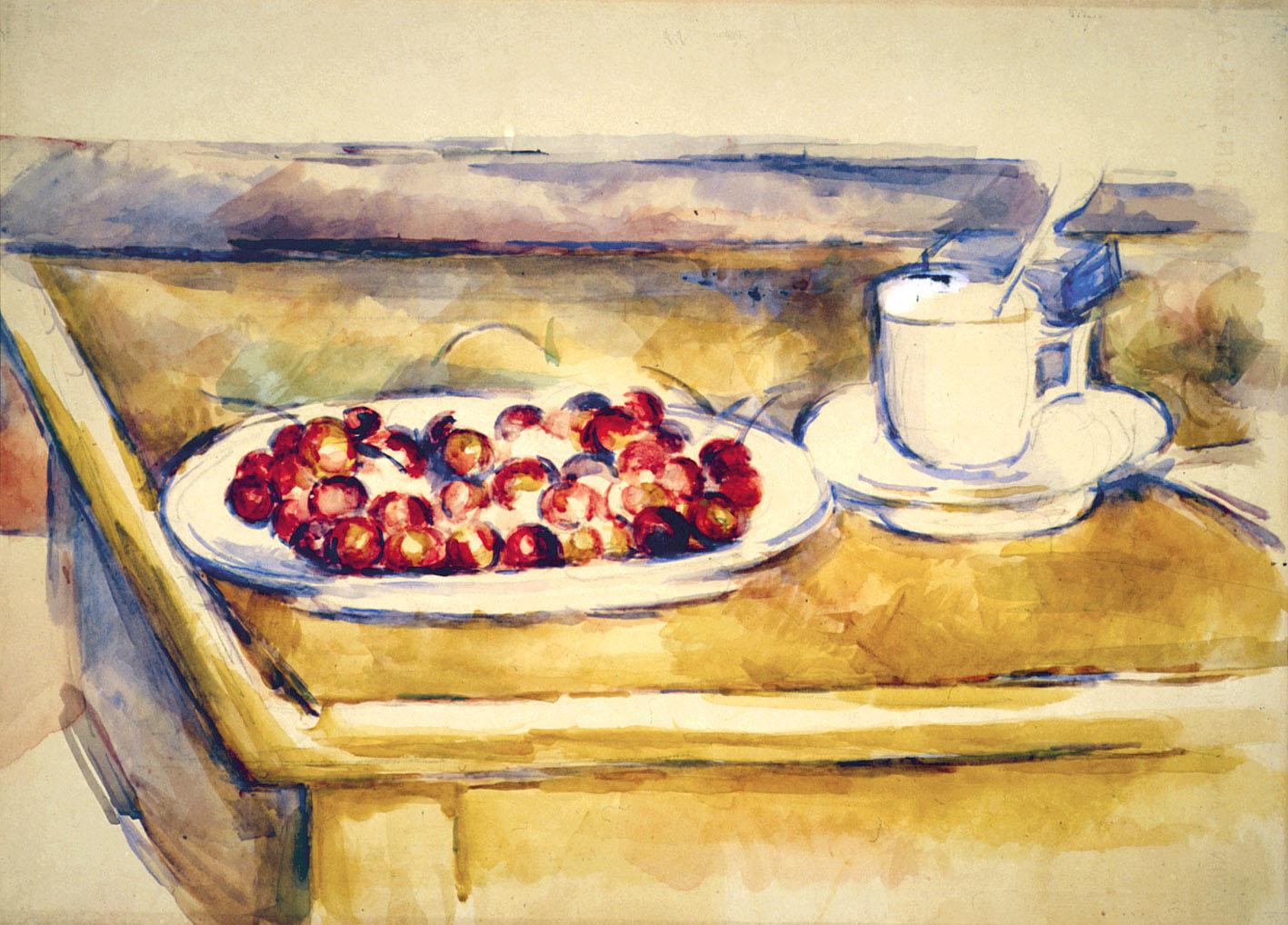 """Paul Cézanne con la sua """"Natura morta con ciliegie"""" alla Fondazioni Magnani Rocca di Traversetolo"""