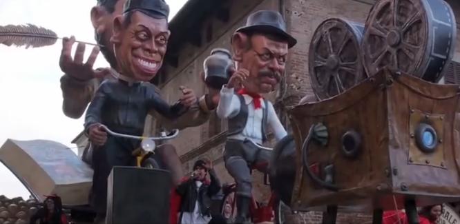 Busseto  -  Gran Carnevale Storico della Risata,  oltre un secolo di storia