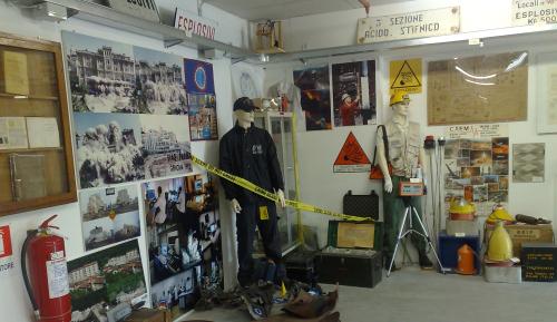 Parma - Museo di esplosivistica