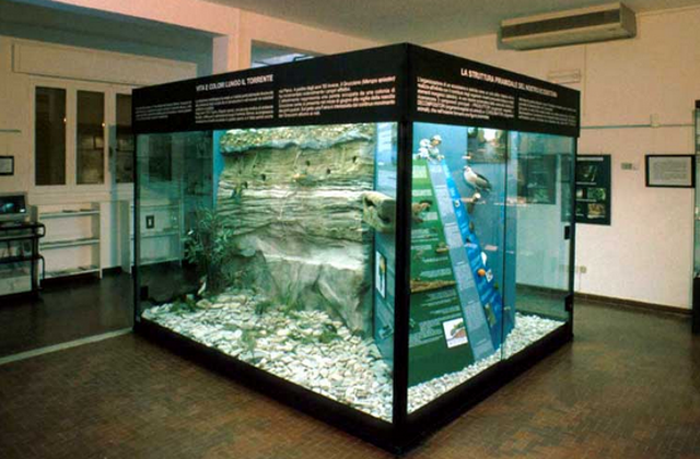 Salsomaggiore - Il Centro Visite e il Museo Naturalistico del Parco dello Stirone