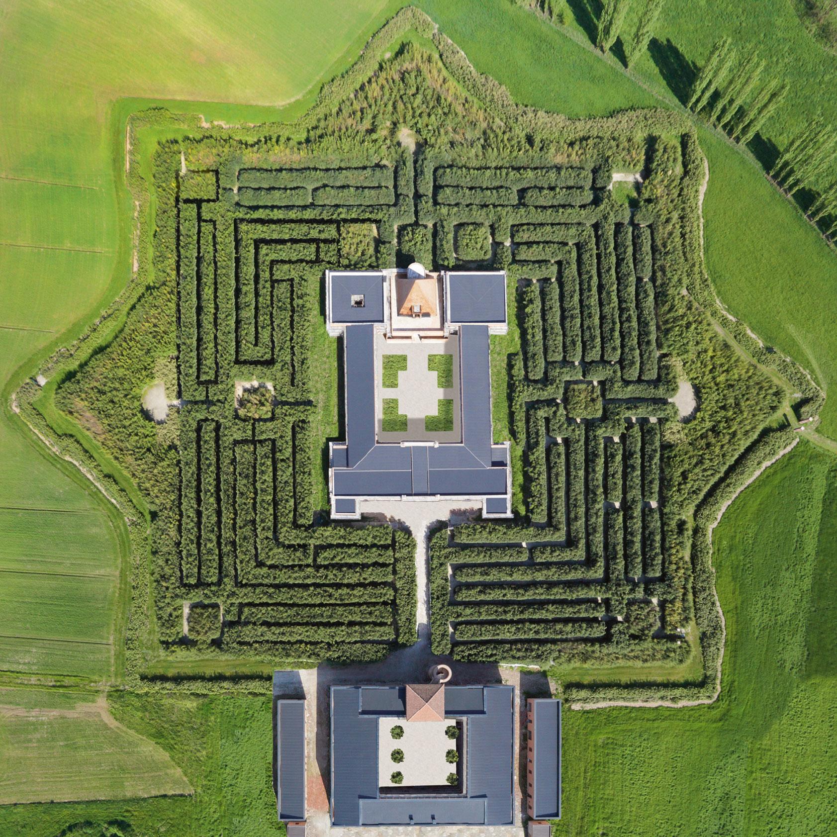 Fontanellato -Labirinto della Masone di Franco Maria Ricci