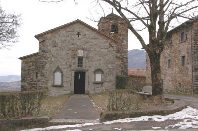 Palanzano -Chiesa di Santa Maria Assunta a Zibana