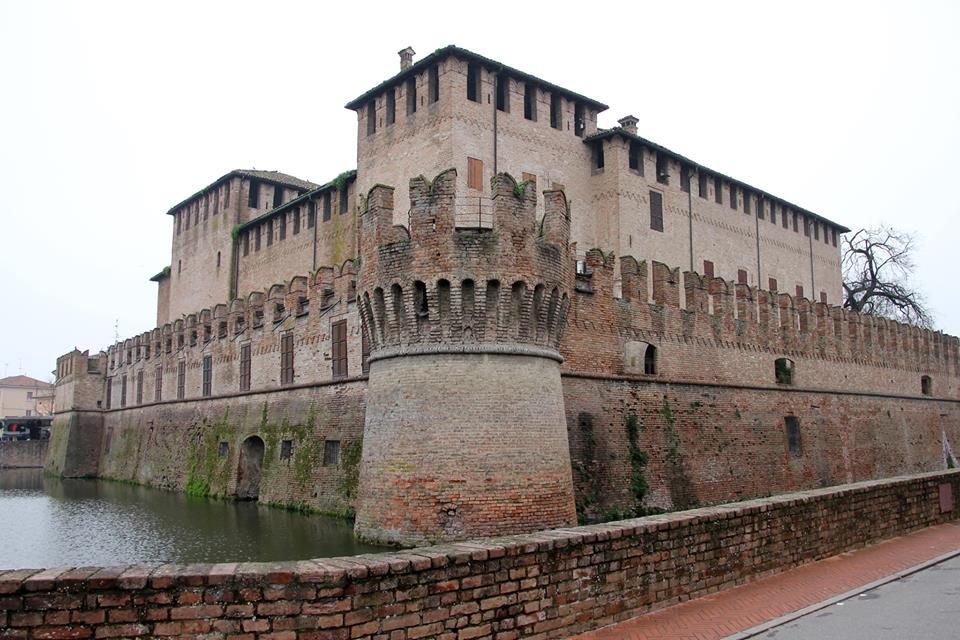Fontanellato - La Rocca con affreschi del Parmigianino