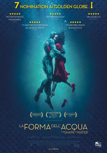 Al Cinema San Martino Noceto LA FORMA DELL'ACQUA