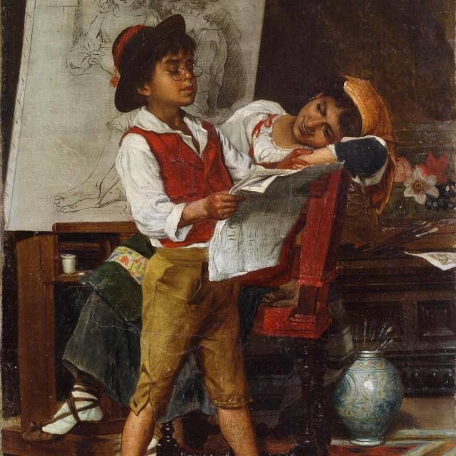 Realizzare un quadro/1: il mio ritratto Laboratorio didattico per bambini e famiglie