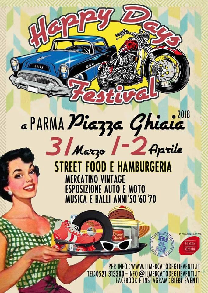 Happy Days Festival 2018 in Piazza Ghiaia