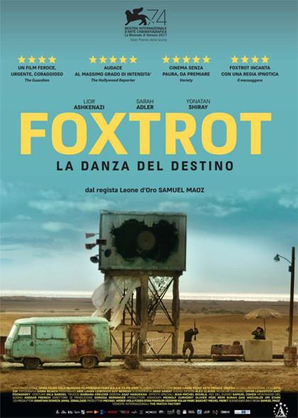 """Al cinema Astra Parma """"FOXTROT-LA DANZA DEL DESTINO """"Leone d'argento"""" al Festival di Venezia"""