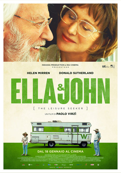 """The Original Ones"": ELLA & John:THE LEISURE SEEKER di Paolo Virzì."