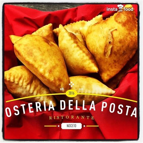 All'Osteria della Posta a Borghetto, tutte le domeniche, TORTAFRITTA con salumi, Formaggi & Bocconcini ripieni