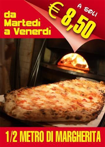Promozione 1/2 metro di margherita da Pizza Fantasy
