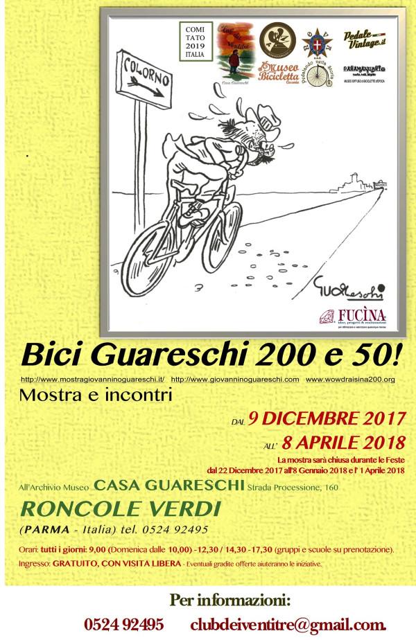 Bici Guareschi 200 e 50 a cura di Antonio Sandri, all'archivio Museo Casa Guareschi