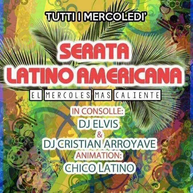 Serata latino-americana tutti i mercoledì al Jamaica pub Parma