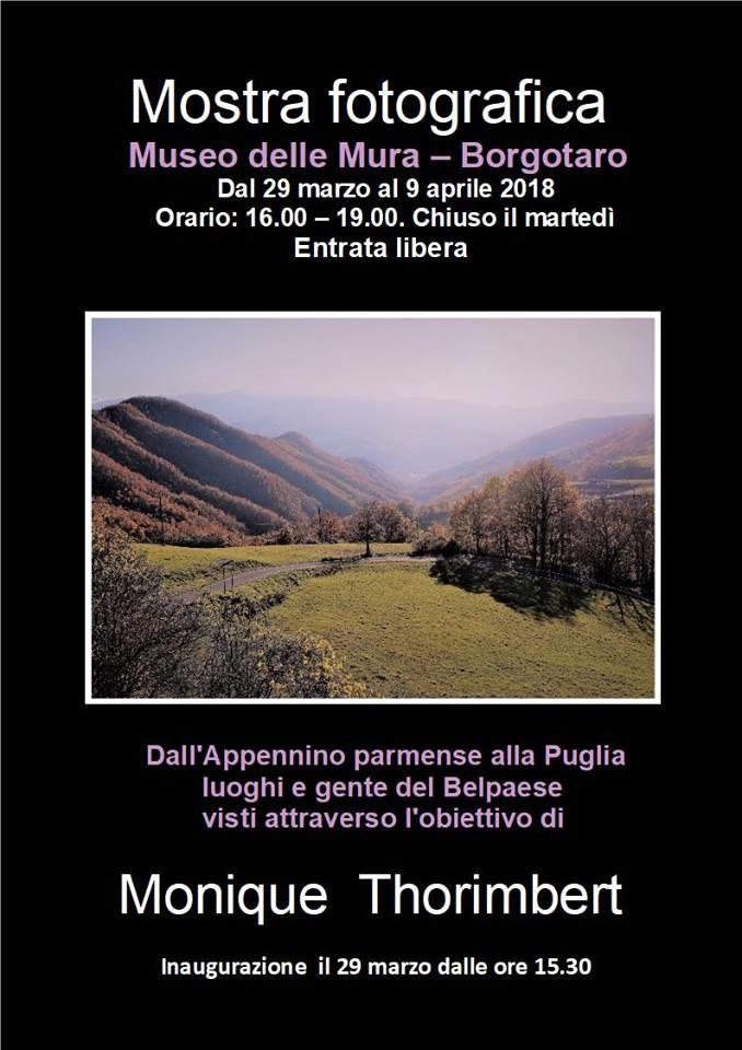 Il Museo delle mura di Borgo Val di Taro ospita la mostra fotografica di Monique Thorimbert