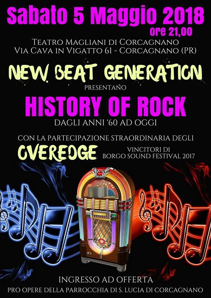 History of rock al teatro Ennio Magliani