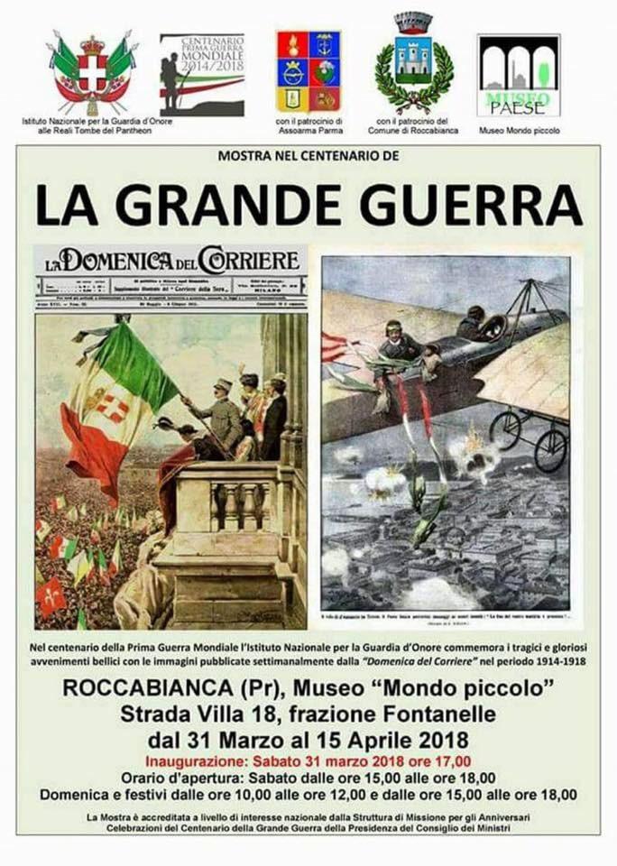 """Riapertura del Museo Mondo piccolo con la mostra """"La grande guerra"""""""