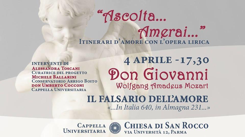 Ascolta Amerai - Don Giovanni, il falsario dell'amore