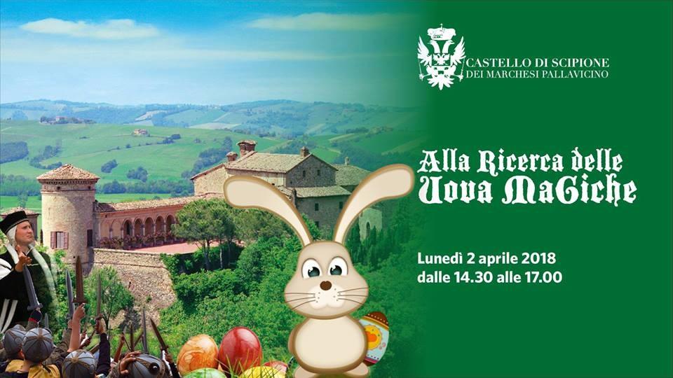 """Pasquetta al Castello di Scipione: """"Alla ricerca delle uova magiche"""""""