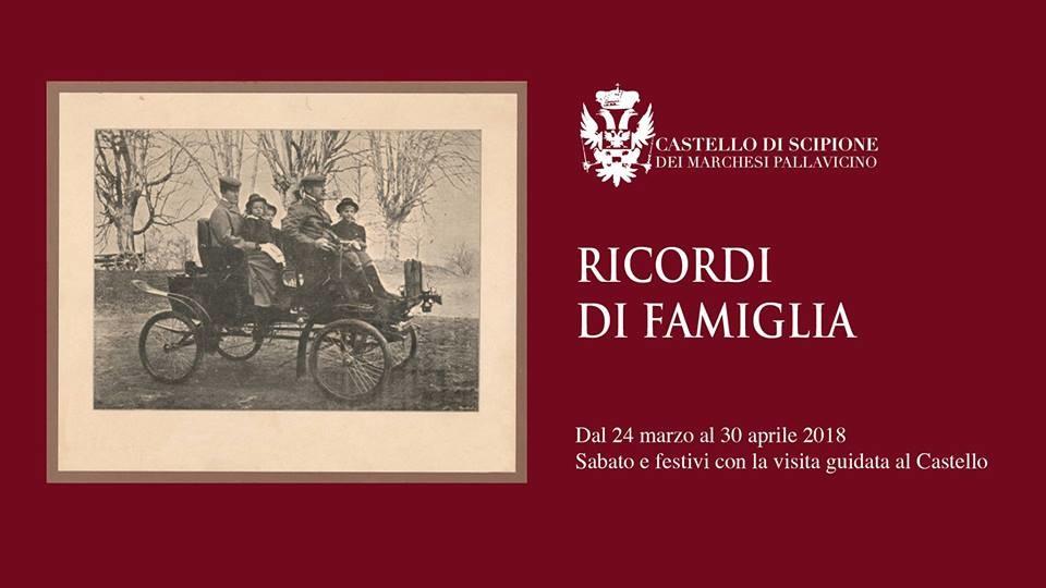 """""""RICORDI DI FAMIGLIA"""": RACCONTI DI VITA QUOTIDIANA al Castello di Scipione"""