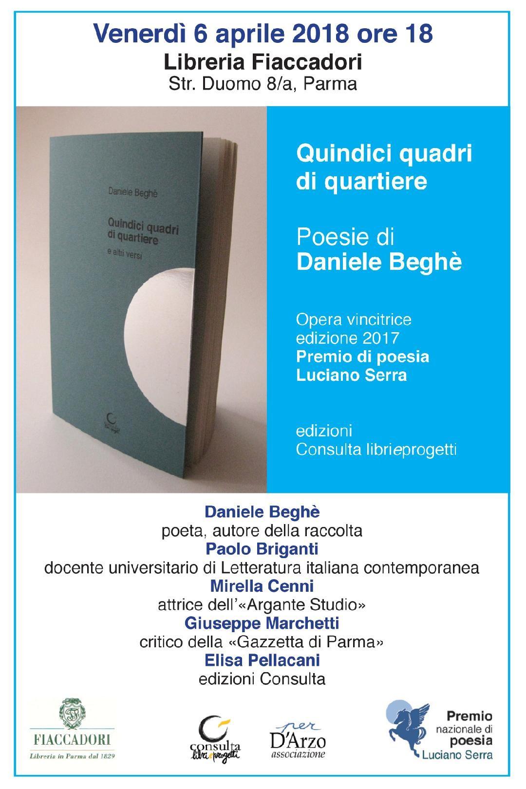 Presentazione del libro di Daniele Beghè alla libreria Fiaccadori