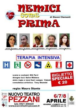 Promozioni biglietti spettacolo teatrale NEMICI COME PRIMA  di Gianni Clementi