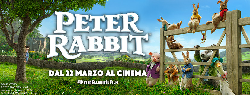 Al cinema Cristallo di Borgotaro     PETER RABBIT
