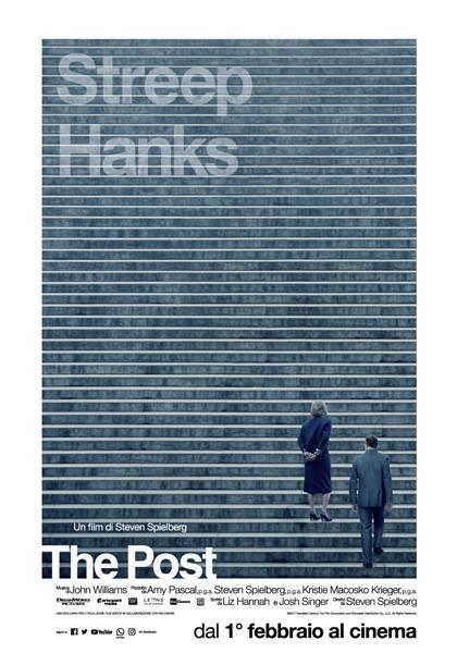 Al cinema Astra Parma THE POST  di Steven Spielberg Con: Meryl Streep,Tom Hanks