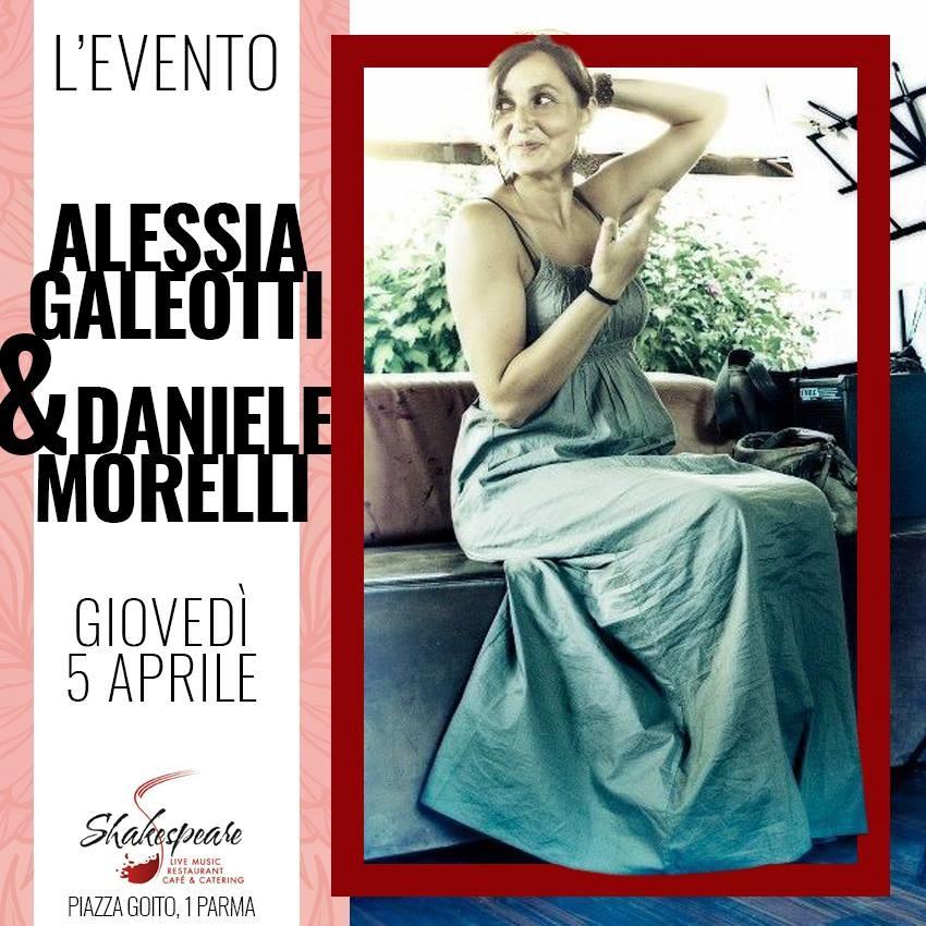 Allo Shakespeare Live Restaurant Cafe Alessia Galeotti & Daniele Morelli