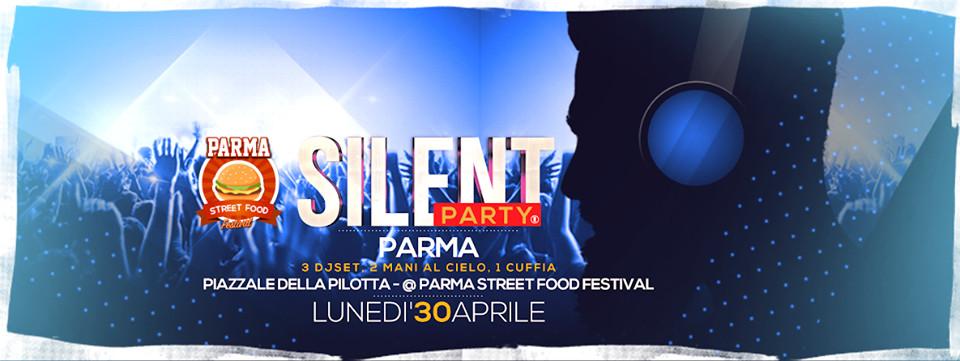 Silent Party in  Piazzale della Pilotta