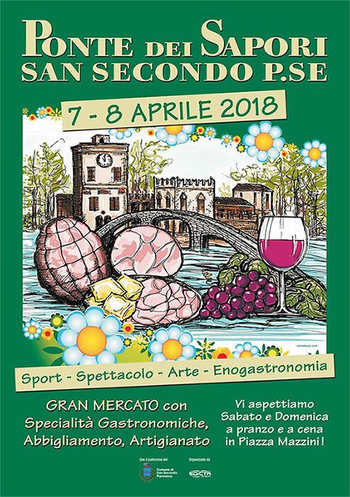 Il 7 e 8 aprile a San Secondo torna il Ponte dei Sapori