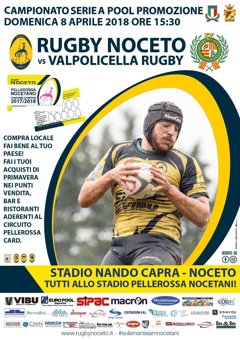 Rugby Noceto vs Valpolicella