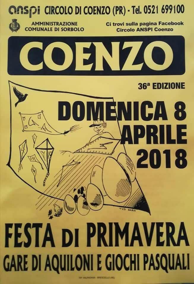 Festa di primavera a Coenzo con gara di aquiloni