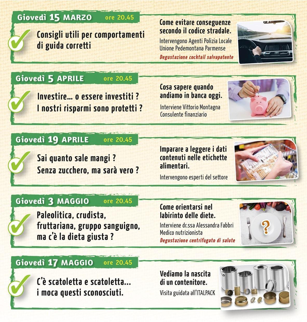 Serate benessere a Tortiano