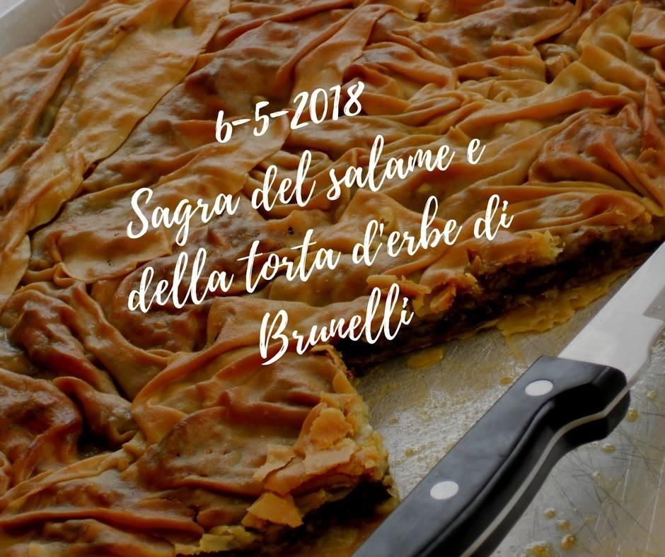 Sagra del salame e della torta d'erbe a Brunelli