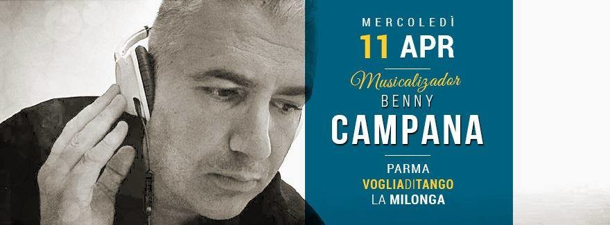Milonga di Voglia di Tango Tdj Benny Campana