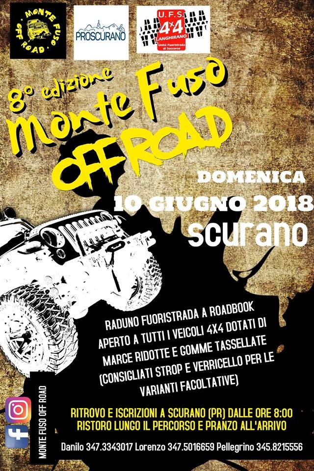 '8° raduno MONTE FUSO OFF ROAD