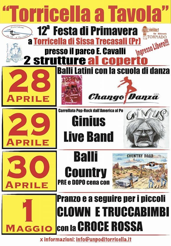"12^ Festa di Primavera di Torricella ""Torricella a Tavola"""
